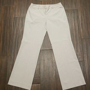 NY&C Cream color slacks Sz. 4P